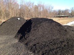 Midnight Black Double Ground Mulch